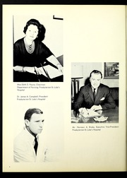 Page 8, 1965 Edition, Presbyterian St Lukes Hospital School of Nursing - Alpha Yearbook (Chicago, IL) online yearbook collection