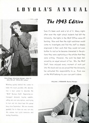 Page 94, 1943 Edition, Loyola University - Wolf Yearbook (New Orleans, LA) online yearbook collection