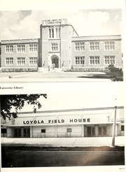Page 15, 1957 Edition, Loyola University - Wolf Yearbook (New Orleans, LA) online yearbook collection