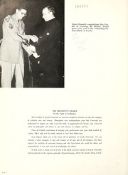 Page 6, 1957 Edition, Loyola University - Wolf Yearbook (New Orleans, LA) online yearbook collection