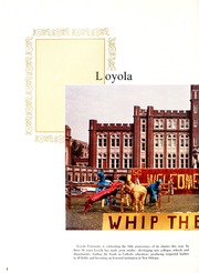 Page 6, 1962 Edition, Loyola University - Wolf Yearbook (New Orleans, LA) online yearbook collection