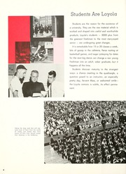 Page 8, 1963 Edition, Loyola University - Wolf Yearbook (New Orleans, LA) online yearbook collection