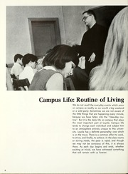 Page 10, 1968 Edition, Loyola University - Wolf Yearbook (New Orleans, LA) online yearbook collection