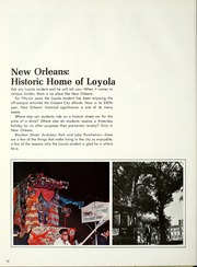 Page 16, 1968 Edition, Loyola University - Wolf Yearbook (New Orleans, LA) online yearbook collection