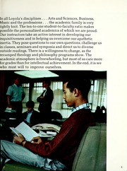 Page 13, 1969 Edition, Loyola University - Wolf Yearbook (New Orleans, LA) online yearbook collection