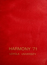 Page 1, 1971 Edition, Loyola University - Wolf Yearbook (New Orleans, LA) online yearbook collection