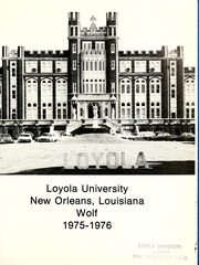 Page 5, 1976 Edition, Loyola University - Wolf Yearbook (New Orleans, LA) online yearbook collection