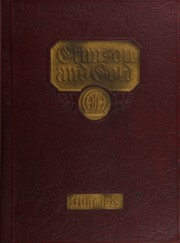 1929 Edition, Townsend Harris High School - Crimson Gold Yearbook (Flushing, NY)