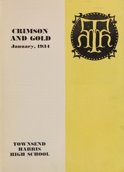 Page 5, 1934 Edition, Townsend Harris High School - Crimson Gold Yearbook (Flushing, NY) online yearbook collection