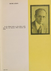 Page 7, 1934 Edition, Townsend Harris High School - Crimson Gold Yearbook (Flushing, NY) online yearbook collection