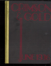 1936 Edition, Townsend Harris High School - Crimson Gold Yearbook (Flushing, NY)