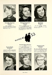 Page 15, 1953 Edition, Chesterton High School - Singing Sands Yearbook (Chesterton, IN) online yearbook collection