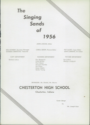Page 5, 1956 Edition, Chesterton High School - Singing Sands Yearbook (Chesterton, IN) online yearbook collection