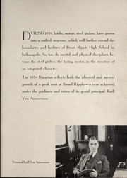 Page 3, 1939 Edition, Broad Ripple High School - Riparian Yearbook (Indianapolis, IN) online yearbook collection