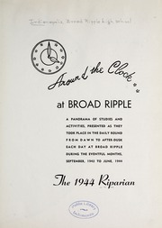 Page 5, 1944 Edition, Broad Ripple High School - Riparian Yearbook (Indianapolis, IN) online yearbook collection