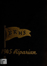 Broad Ripple High School - Riparian Yearbook (Indianapolis, IN) online yearbook collection, 1945 Edition, Page 1