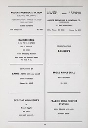 Page 74, 1945 Edition, Broad Ripple High School - Riparian Yearbook (Indianapolis, IN) online yearbook collection