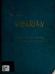 Page 1, 1947 Edition, Broad Ripple High School - Riparian Yearbook (Indianapolis, IN) online yearbook collection