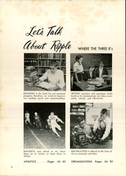 Page 8, 1955 Edition, Broad Ripple High School - Riparian Yearbook (Indianapolis, IN) online yearbook collection