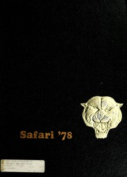 1978 Edition, R Nelson Snider High School - Safari Yearbook (Fort Wayne, IN)