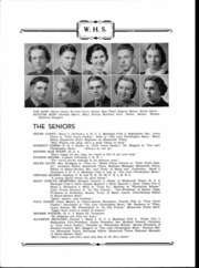Page 7, 1938 Edition, Westfield High School - Shamrocket Yearbook (Westfield, IN) online yearbook collection
