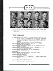 Page 8, 1938 Edition, Westfield High School - Shamrocket Yearbook (Westfield, IN) online yearbook collection