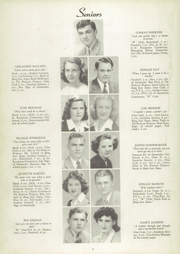 Page 8, 1946 Edition, Westfield High School - Shamrocket Yearbook (Westfield, IN) online yearbook collection