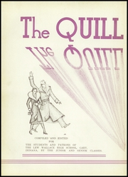 Page 6, 1936 Edition, Lew Wallace High School - Quill and Blade Yearbook (Gary, IN) online yearbook collection
