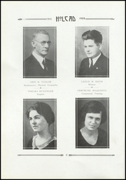 Page 16, 1923 Edition, Rushville High School - Holcad Yearbook (Rushville, IN) online yearbook collection