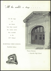 Page 5, 1957 Edition, Rushville High School - Holcad Yearbook (Rushville, IN) online yearbook collection