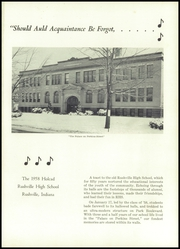 Page 5, 1958 Edition, Rushville High School - Holcad Yearbook (Rushville, IN) online yearbook collection