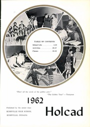 Page 5, 1962 Edition, Rushville High School - Holcad Yearbook (Rushville, IN) online yearbook collection