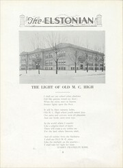 Page 12, 1924 Edition, Elston High School - Elstonian Yearbook (Michigan City, IN) online yearbook collection