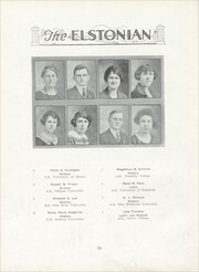 Page 16, 1924 Edition, Elston High School - Elstonian Yearbook (Michigan City, IN) online yearbook collection