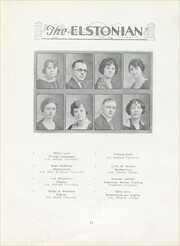 Page 17, 1924 Edition, Elston High School - Elstonian Yearbook (Michigan City, IN) online yearbook collection