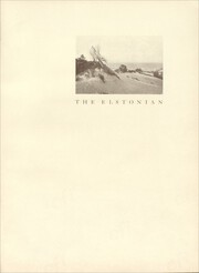 Page 5, 1924 Edition, Elston High School - Elstonian Yearbook (Michigan City, IN) online yearbook collection