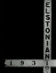 Page 1, 1931 Edition, Elston High School - Elstonian Yearbook (Michigan City, IN) online yearbook collection