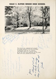 Page 6, 1950 Edition, Elston High School - Elstonian Yearbook (Michigan City, IN) online yearbook collection