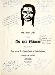 Page 7, 1950 Edition, Elston High School - Elstonian Yearbook (Michigan City, IN) online yearbook collection