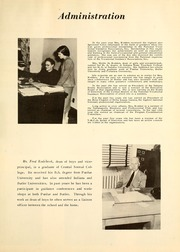 Page 11, 1951 Edition, Warren Central High School - Wigwam Yearbook (Indianapolis, IN) online yearbook collection