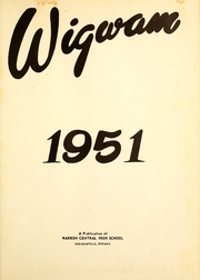 Page 5, 1951 Edition, Warren Central High School - Wigwam Yearbook (Indianapolis, IN) online yearbook collection