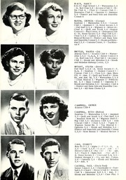 Page 17, 1952 Edition, Warren Central High School - Wigwam Yearbook (Indianapolis, IN) online yearbook collection