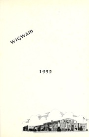 Page 5, 1952 Edition, Warren Central High School - Wigwam Yearbook (Indianapolis, IN) online yearbook collection