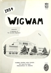 Page 7, 1954 Edition, Warren Central High School - Wigwam Yearbook (Indianapolis, IN) online yearbook collection