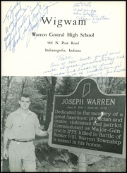 Page 5, 1959 Edition, Warren Central High School - Wigwam Yearbook (Indianapolis, IN) online yearbook collection