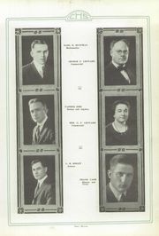 Page 13, 1921 Edition, Crawfordsville High School - Athenian Yearbook (Crawfordsville, IN) online yearbook collection