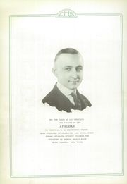 Page 6, 1921 Edition, Crawfordsville High School - Athenian Yearbook (Crawfordsville, IN) online yearbook collection