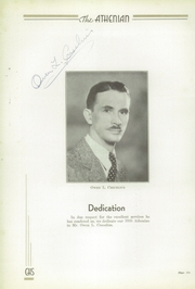 Page 8, 1935 Edition, Crawfordsville High School - Athenian Yearbook (Crawfordsville, IN) online yearbook collection