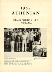 Page 5, 1952 Edition, Crawfordsville High School - Athenian Yearbook (Crawfordsville, IN) online yearbook collection