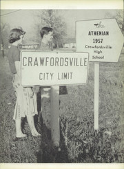 Page 7, 1957 Edition, Crawfordsville High School - Athenian Yearbook (Crawfordsville, IN) online yearbook collection